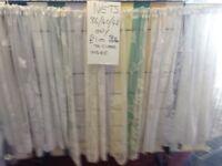 Window net curtains x 5 rolls mim 200 metres