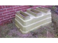 FREE Large Solid Plastic Container - Ideal for builder/ plasterer to mix in or collecting water