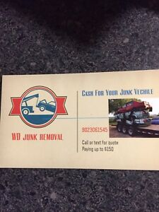 $$ for your junk vechile