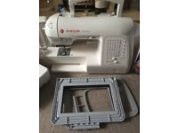 Brand new Singer Futura Xl420 embroidery sewing machine with all attachments plus extra software