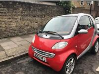 Smart passion 599cc automatic soft touch low mileage 57000 full dealer history full mot