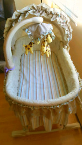 Bassinet from a smoke free home
