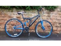 DUNLOP SPORT SIGNATURE SERIES DUAL SUSPENSION MTB FRONT AND REAR DISC BRAKES