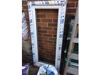 white double glazed window frame