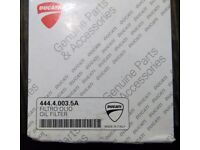 Ducati OEM oil filter, brand new, for Diavel Monster Multistrada and scramblers