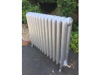 Pair of antique-style cast iron radiators - available separately or as a pair