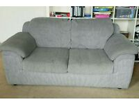 Grey Double Seater Sofa