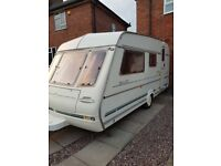 Compass ralley 4 berth caravan