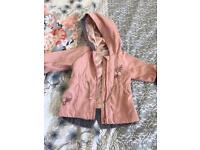 Girls coats 0-3