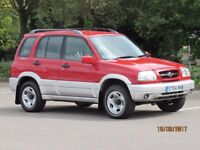 SUZUKI GRAND VITARA ESTATE 4X4 16 DEALER SERVICE STAMPS FANTASTIC CONDITION GARAGED LADY OWNER