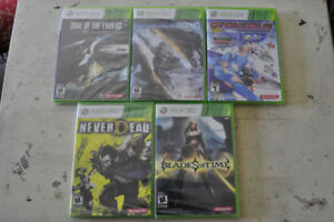 Set of new xbox 360 games by Konami