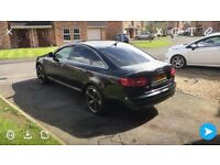 Black 2009 Audi A6 2.0TDI for sale, may swap or px
