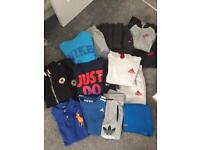 Boys tracksuits Nike, addidas, converse, Ralph Lauren job lot/ boot sale