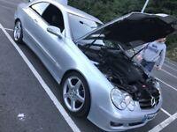 Mercedes CLK 220 cdi avantgarde