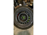 Vauxhall Vectra C Signum Astra H Zafira B wheel with nearly new tyre