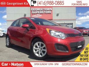 2014 Kia Rio LX+ w/ECO | HEATED SEATS | BLUETOOTH |
