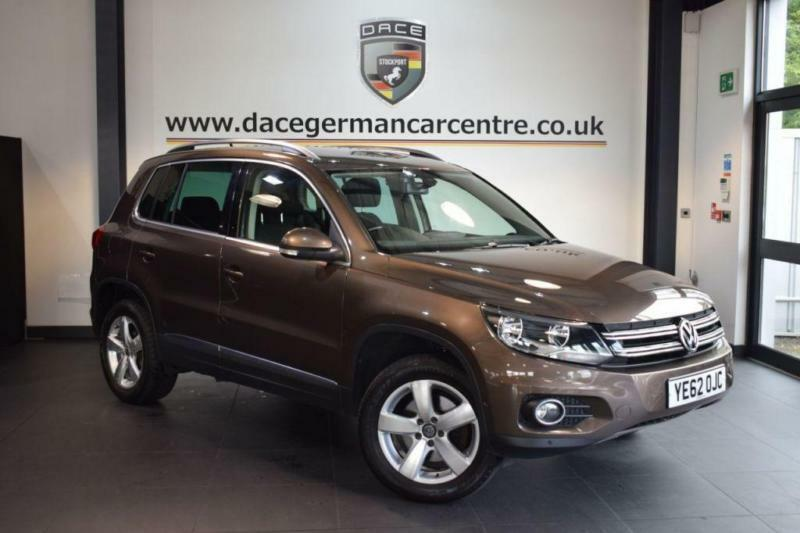 2012 62 VOLKSWAGEN TIGUAN 2.0 ESCAPE TDI BLUEMOTION TECHNOLOGY 4MOTION 5DR 138 B
