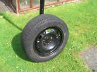 Skoda Fabia Wheelrim and Tyre