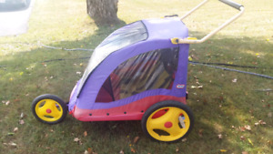 Bike trailer for kids