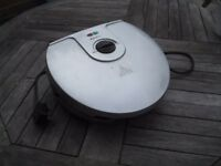 Electric grill, fat reducing and diet-friendly, 1300 watts, Delta