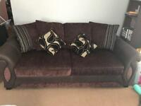 Large 3 seater sofa (can fit 4 people comfortably)