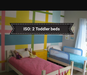 Iso: Boy and Girl Toddler beds