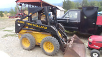 Skid stear and operator for hire