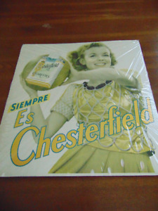 Siempre Es Chesterfield / Old Cigarette advertising