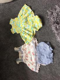 Next 0-1 month Baby Dresses