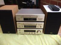 Denon Mini Hifi System DCD-F100 DRR-F100 DRA-F100