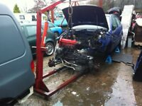 Vw polo 6n complete engine and gear box 1.2 98000 was running when removed