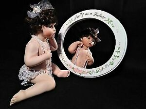 "1995 Ashton Drake Porcelain 12"" Doll ""Pretty as a Picture"""