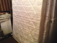 Double mattress,fresh and clean£30.00
