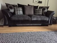 Sofa suite in excellent condition only selling due to small livingroom