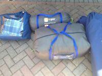 Hi gear Mojave 5 tent bundle