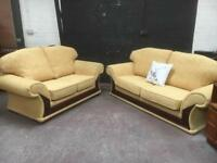 Fabulous quality clean two sofa suite