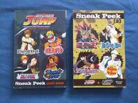 Shonen Jump Manga Sneak Peek 1 & 2 2007-2009