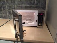 Stainless Steel 800w Microwave