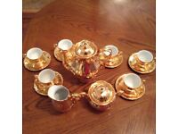 Gold Coffee Set 40 Year Old