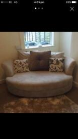 Dfs sofa's 2 seater and 4 seater