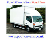 2011 (11) NISSAN CABSTAR 45.15 PRO + D.R.W BOX VAN / EXHIBITION UNIT 150BHP