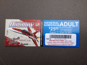 Abbotsford Airshow 1 Day Adult Ticket