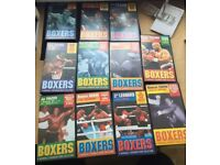 Boxers a Marshall Cavendish video collection 11 videos all together. Good condition. Can post