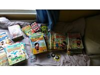 HUGE job lot of Beano comics, annuals, specials etc FREE