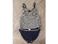 Maternity tankini / swimming costume