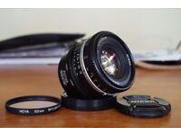 SONY E FIT NIKON LENS 50mm f1.8 AIS, A7, A7R, NEX, A3000, A5000, A6000, ETC