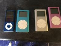 iPod Various Colours