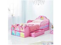 Disney Princess Cube Toddler Bed Frame - Pink