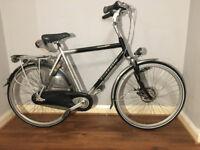 ladies mens Dutch bike Gazelle hybrid city bike