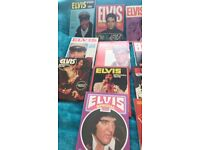 Elvis annuals and Elvis monthly mags